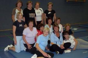 Gymnastikgruppe Gesunder Rücken präsentiert sich